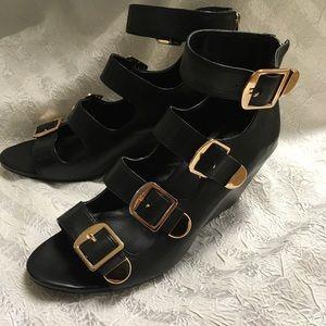 BCBGeneration Gladiator wedge Cayden leather Shoes